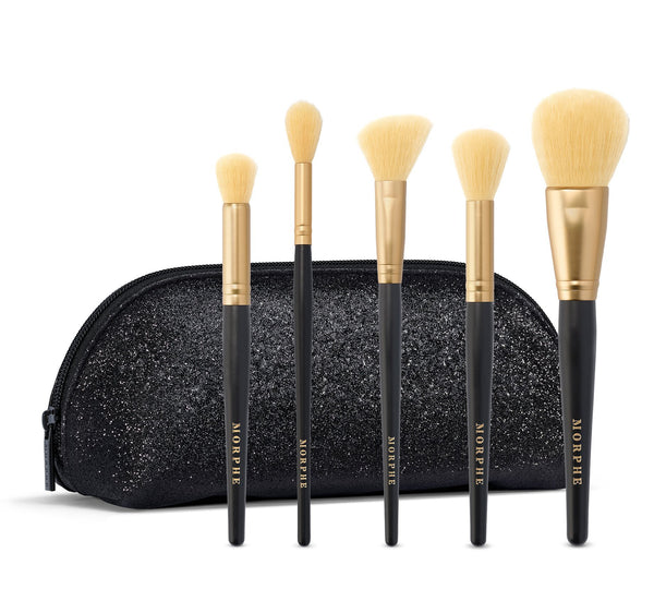 Morphe México - Complexion Crew 5-Piece Brush Collection | Set de Brochas