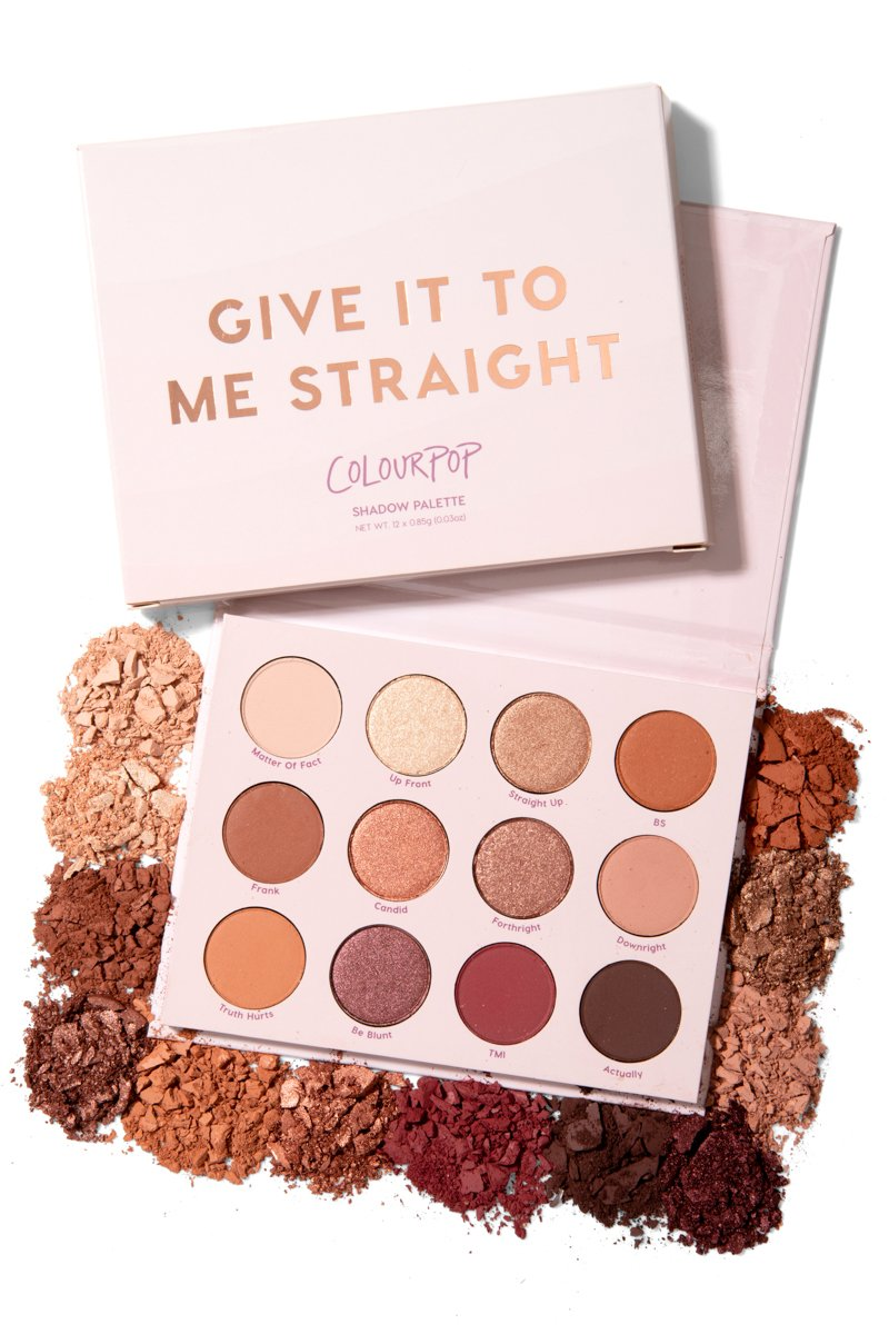 GIVE IT TO ME STRAIGHT PALETTE COLOURPOP - Beauty Box Mérida