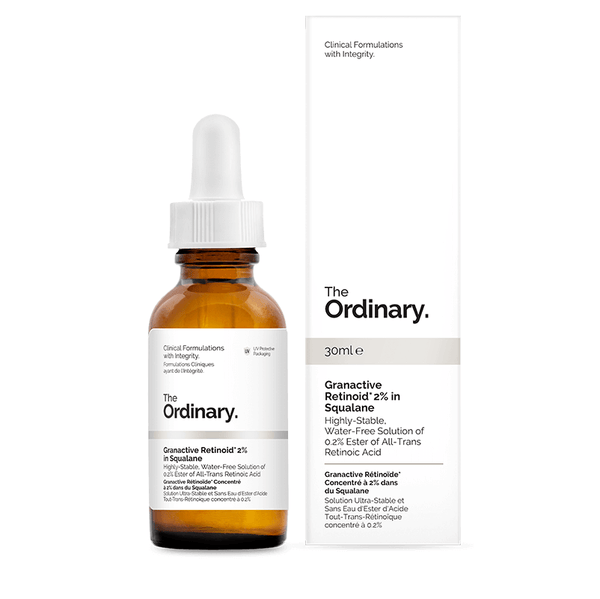 Granactive Retinoid 2% in Squalane THE ORDINARY - Beauty Box Mérida