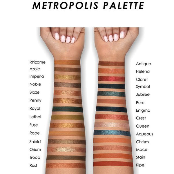 Metropolis Eyeshadow Palette - Beauty Box Mérida