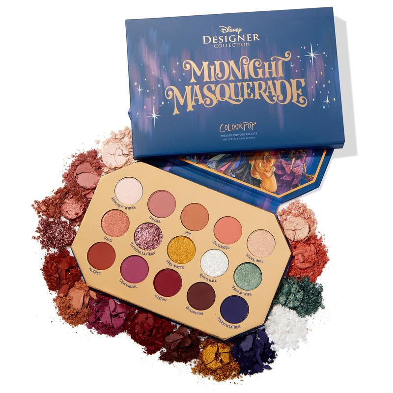midnight masquerade shadow palette colourpop - Beauty Box Mérida