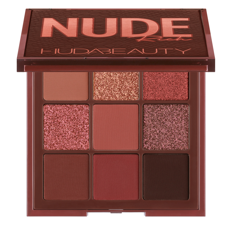 Huda Beauty - Rich Nude Obsessions Eyeshadow Palette