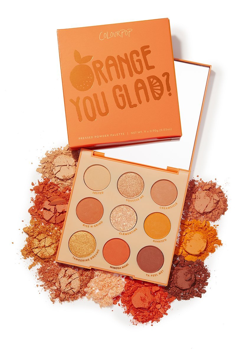 ORANGE YOU GLAD PALETTE - Beauty Box Mérida