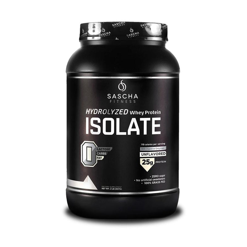 Sascha Fitness - Hydrolyzed Whey Protein Isolate Unflavored | Beauty Box Mérida