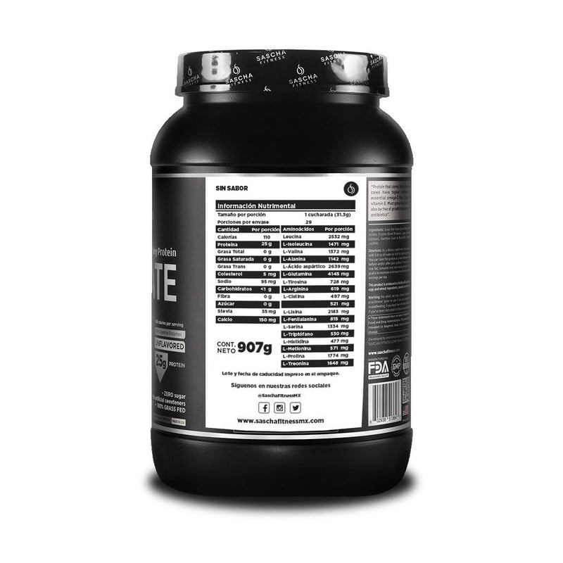 Hydrolyzed Whey Protein Isolate Unflavored
