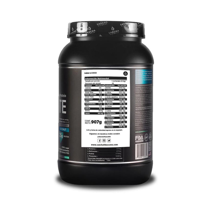 Hydrolyzed Whey Protein Isolate Coconut