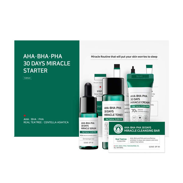 AHA, BHA, PHA 30 Days Miracle Starter Set