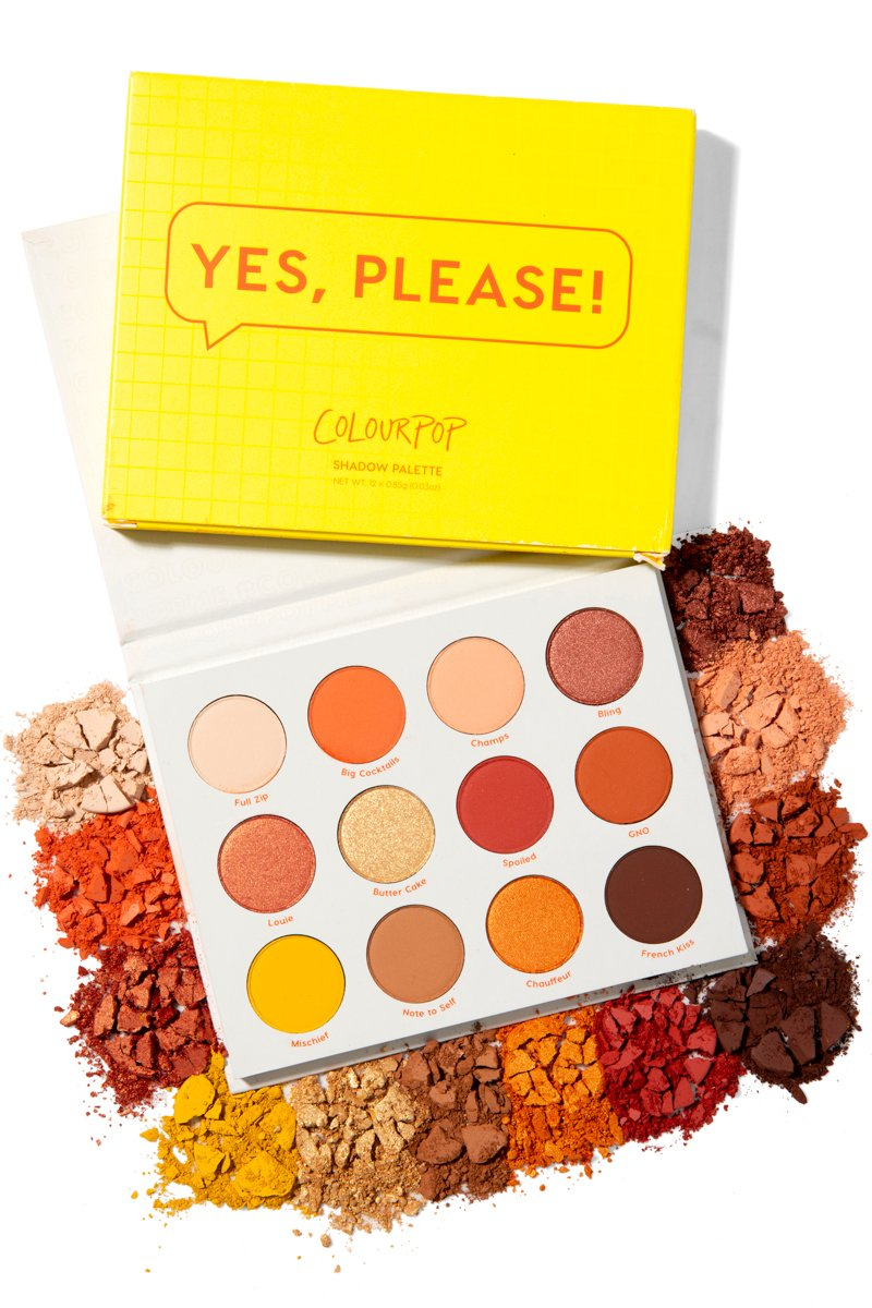 YES PLEASE PALETTE COLOURPOP - Beauty Box Mérida