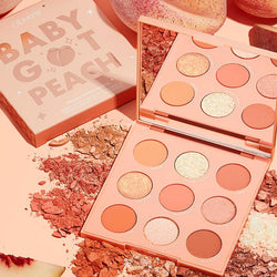 Colourpop - Baby Got Peach | Paleta de Sombras
