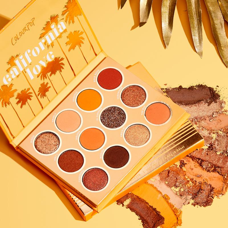 California Love Shadow Palette - Beauty Box Mérida