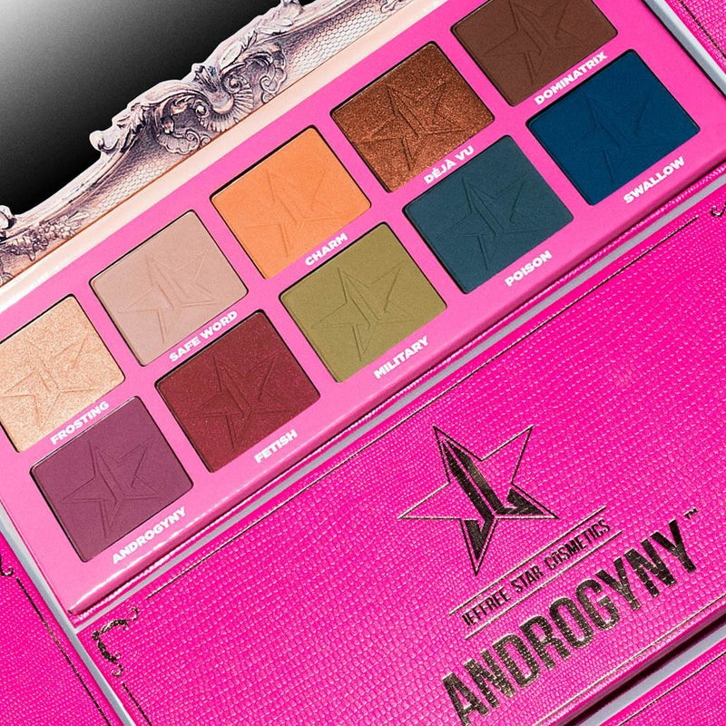 ANDROGYNY EYESHADOW PALETTE - Beauty Box Mérida