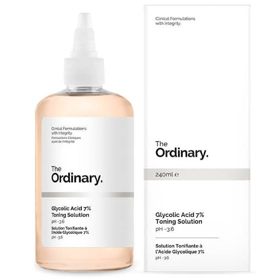 GLYCOLIC ACID 7% TONING SOLUTION THE ORDINARY - Beauty Box Mérida