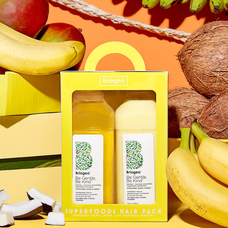 Banana + Coconut Superfoods Shampoo & Conditioner - Beauty Box Mérida