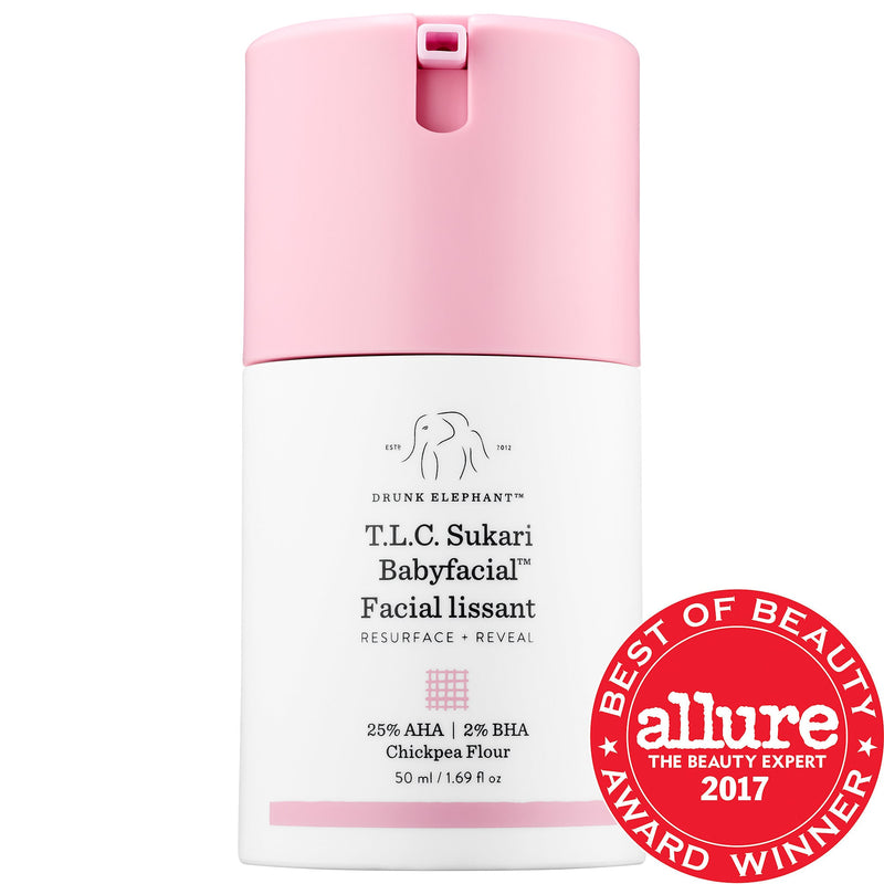 DRUNK ELEPHANT TLC Sukari Babyfacial™ 25% AHA + 2% BHA Mask - Beauty Box Mérida