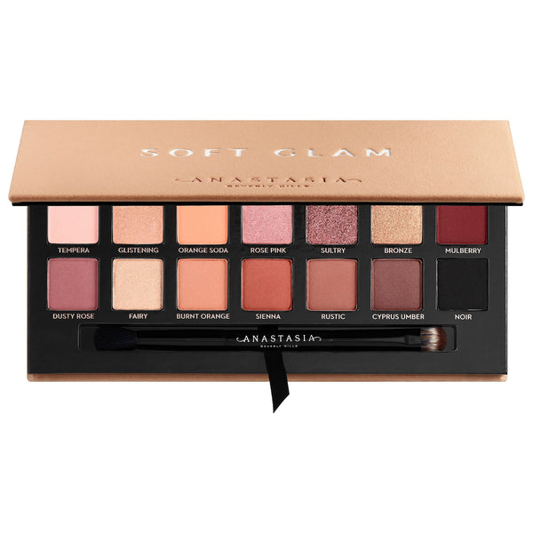 Soft Glam Eyeshadow Palette - Beauty Box Mérida