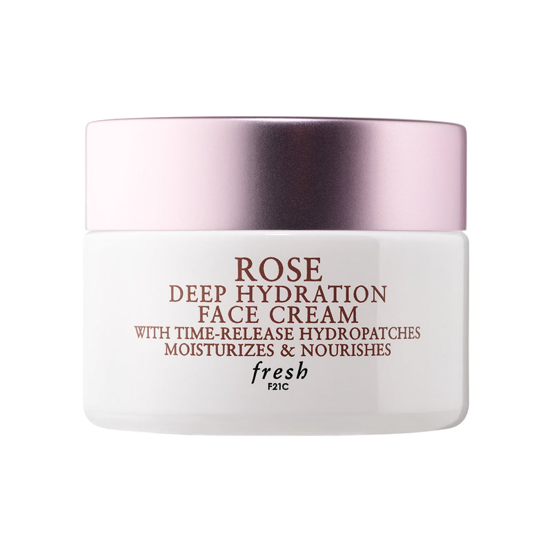 Mini Rose & Hyaluronic Acid Deep Hydration Moisturizer Travel Size