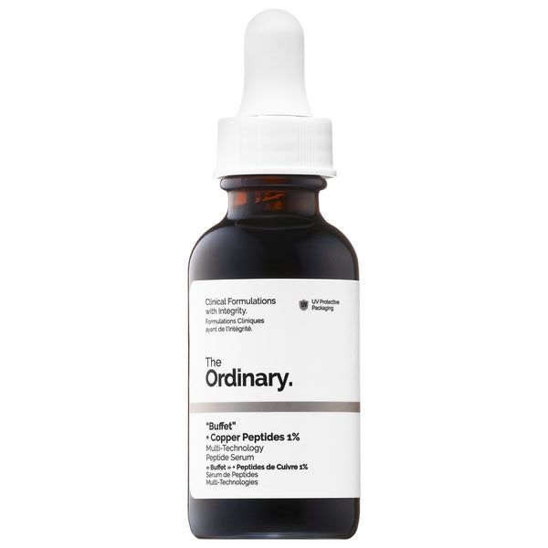 "The Ordinary México - ""BUFFET"" + COPPER PEPTIDES 1% - Beauty Box Mérida"