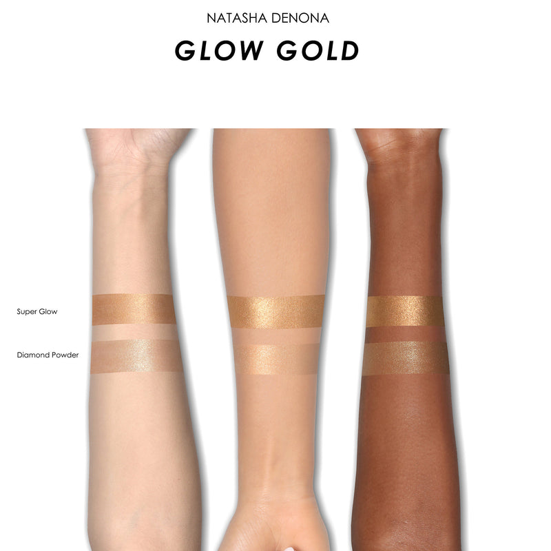 Iluminador Glow Gold Highlight Duo