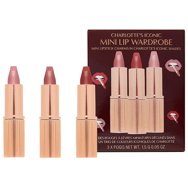 Mini Iconic Matte Revolution Lipstick Trio