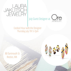 July Guest Designer at Ore