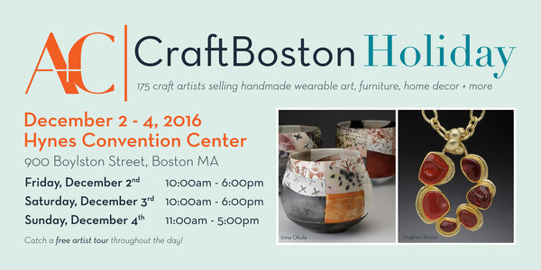 Craft Boston Holiday 2016