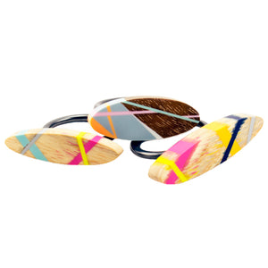 Laura Jaklitsch Jewelry Wood x Polyurethane Stacking Rings