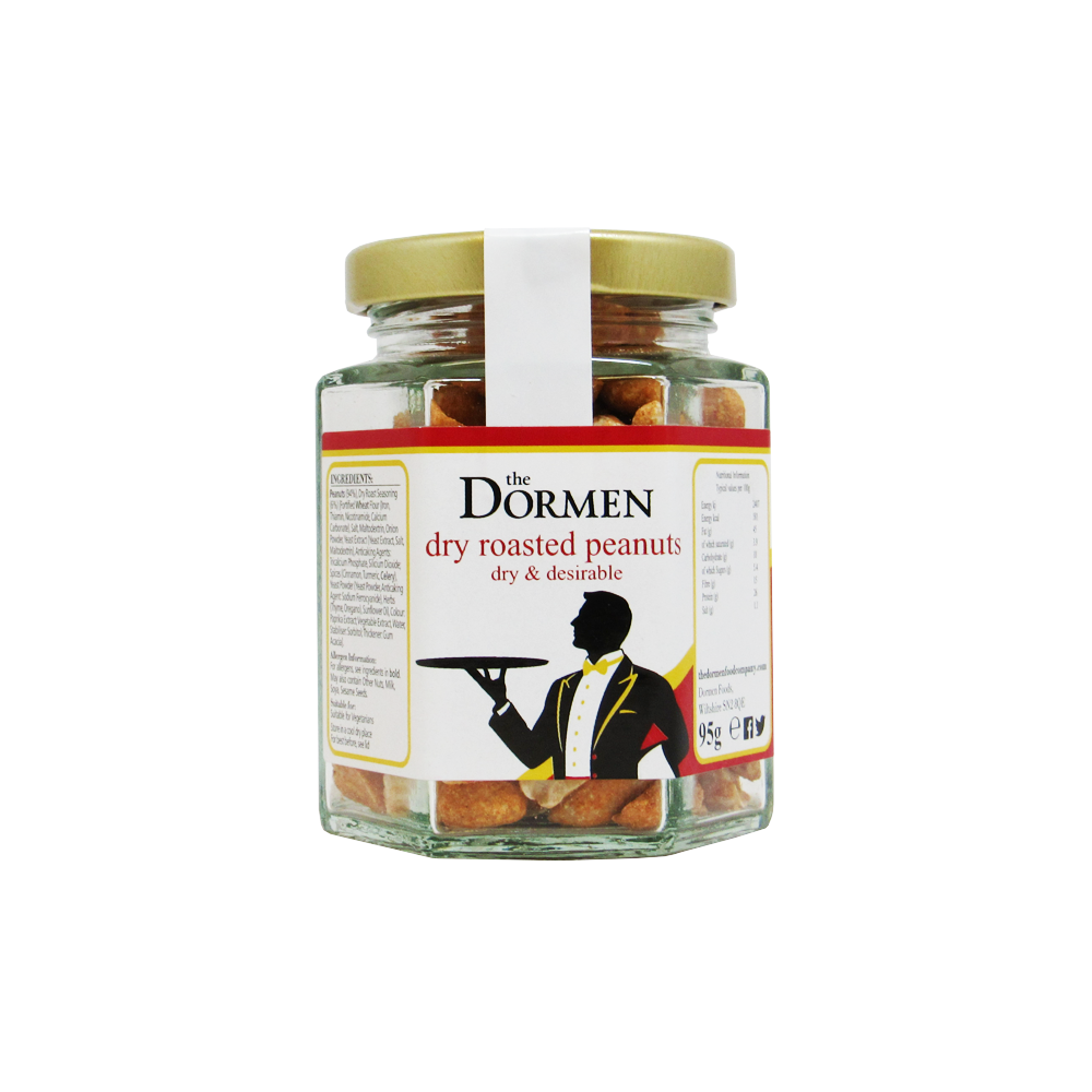 Dormen Dry Roasted Peanuts Jar