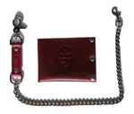 Oxblood Red Degenerate Bi-Fold Wallet (Limited Edition)