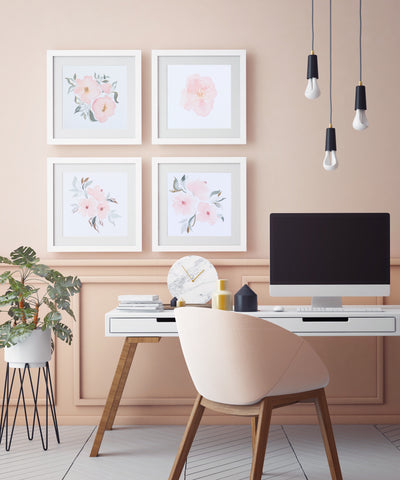 Watercolor Poster selber machen mit dem Craftzaloon Watercolor Onlinekurs