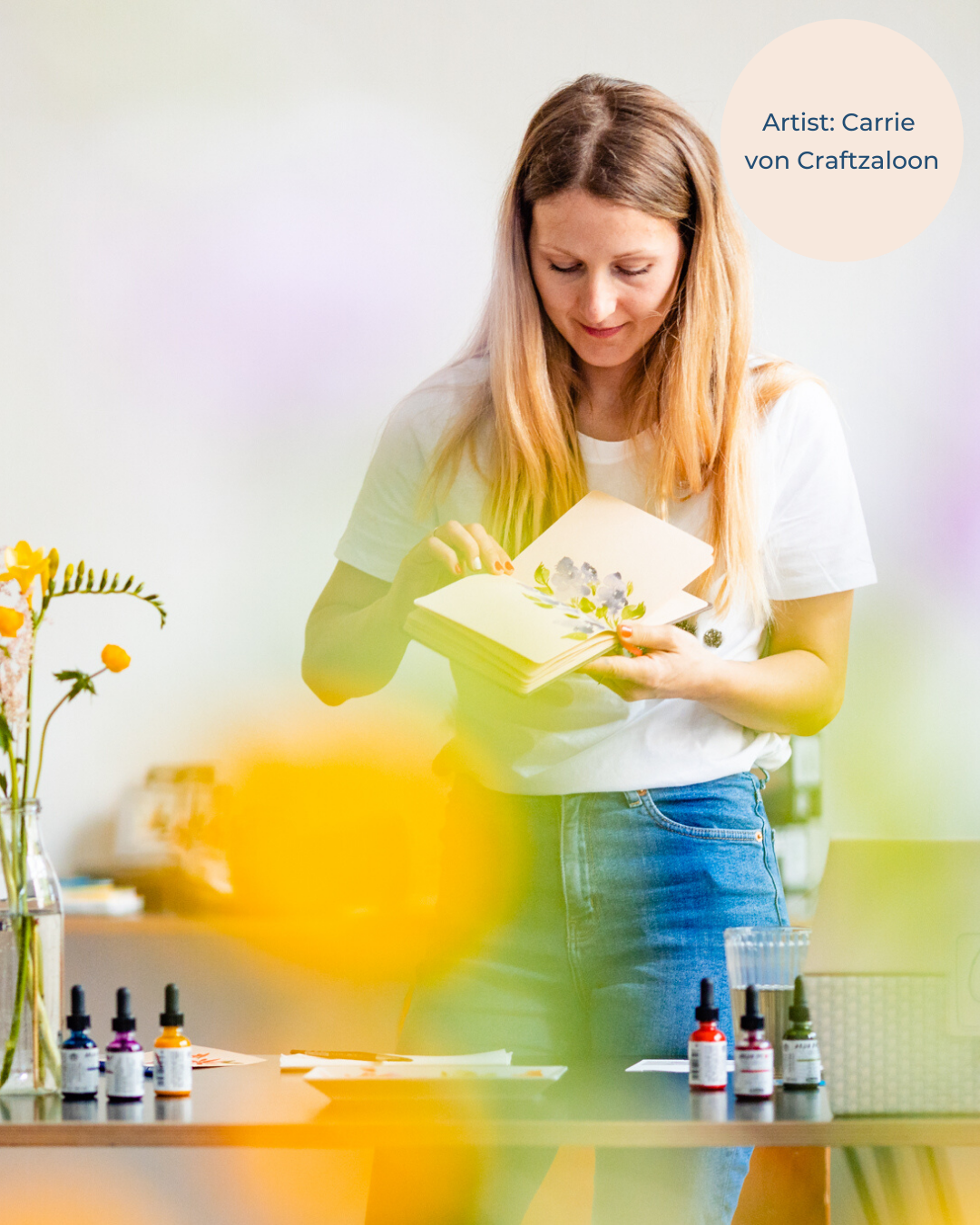 Watercolor Workshops mit Craftzaloon