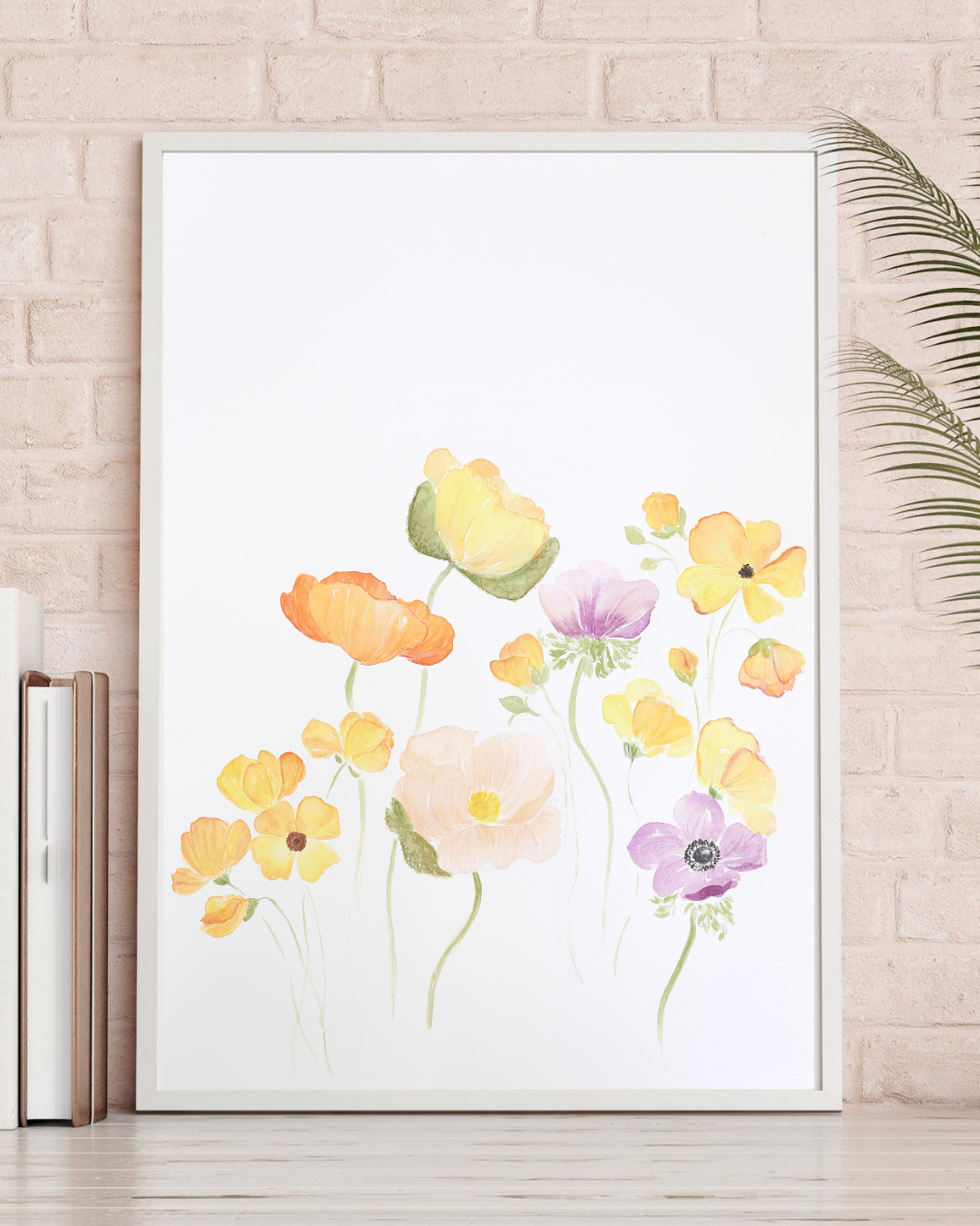 Online Workshop Blumen Aquarellieren