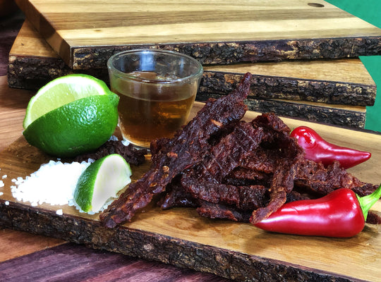 Alcohol Infused Beef Jerky