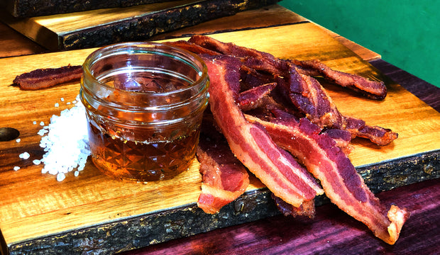 Old Fashioned Maple Uncured Bacon Jerky