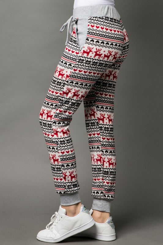 Christmas Jogger Pants - EmmyLou Boutique