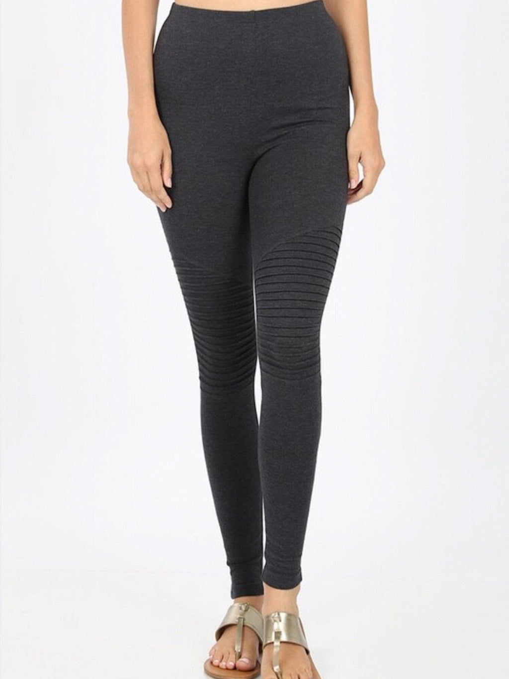 Premium Cotton Moto Leggings