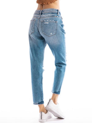 Distressed Boyfriend Kan Can Jeans