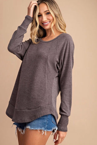 Off Shoulder Ruffled Bell Sleeve Top