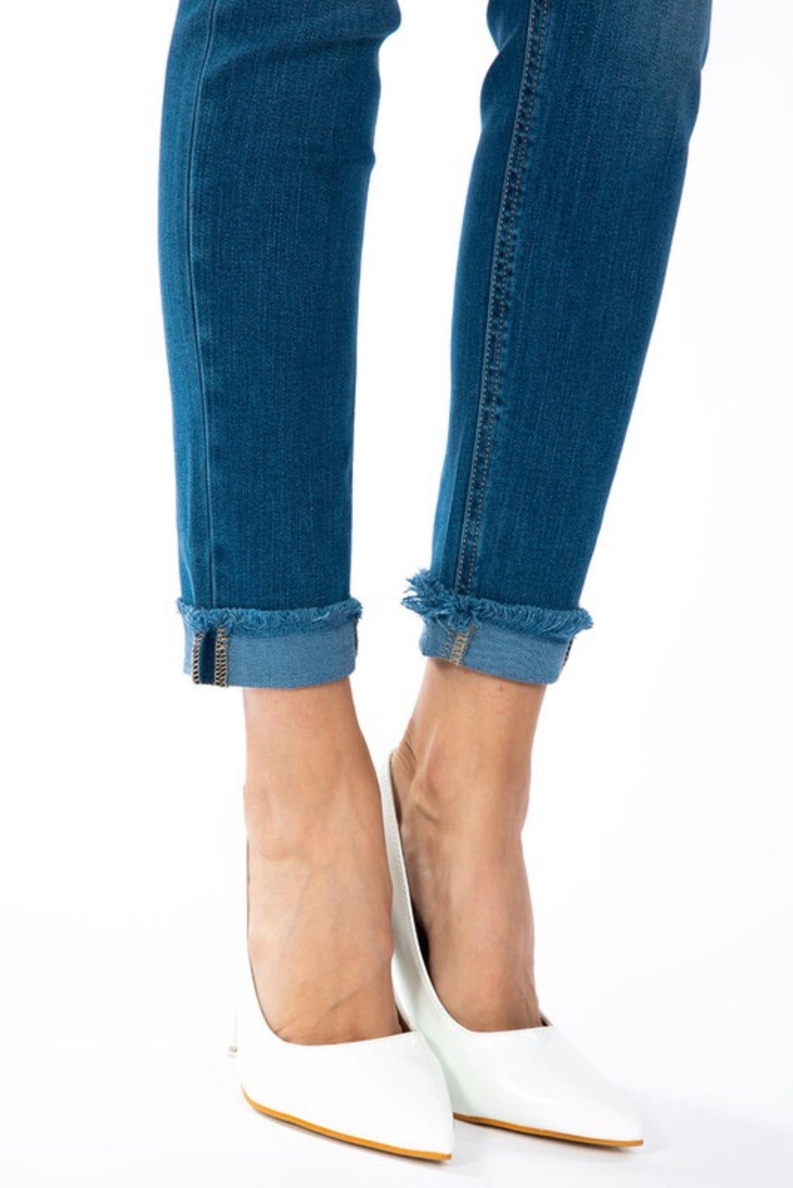 High Rise Skinny Kan Can Jeans
