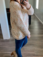 Cream Oversized Sweater