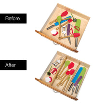 Load image into Gallery viewer, Bamboo Drawer Organizer Inserts (4)