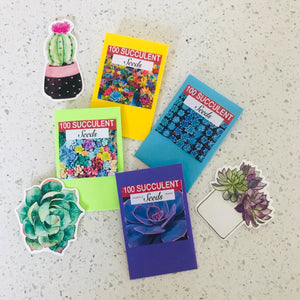 Succulent Seeds Gift Pack
