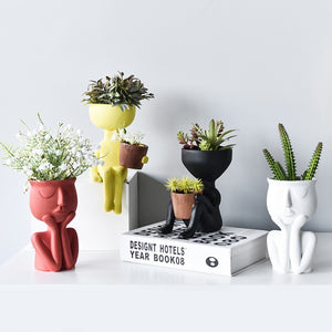 Sittin' Pretty Planter Pots