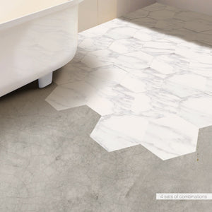 Waterproof Bathroom Floor Tile Sticker