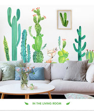 Load image into Gallery viewer, Cactus wall stickers self-adhesive