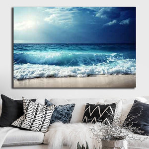 Sea Waves Poster