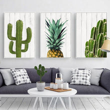 Load image into Gallery viewer, Cactus and Pineapple Posters | Unframed - elitehomeimage