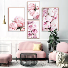 Load image into Gallery viewer, Botanical Prints Peony Wall Art