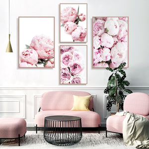Botanical Prints Peony Wall Art