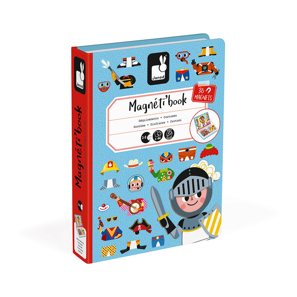 MAGNETI'BOOK DISFRACES CHICOS