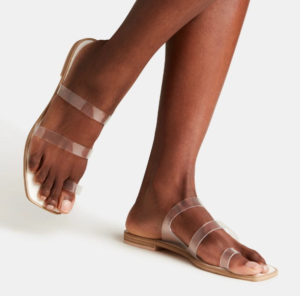 Isala Sandals - Crystal Vinyl
